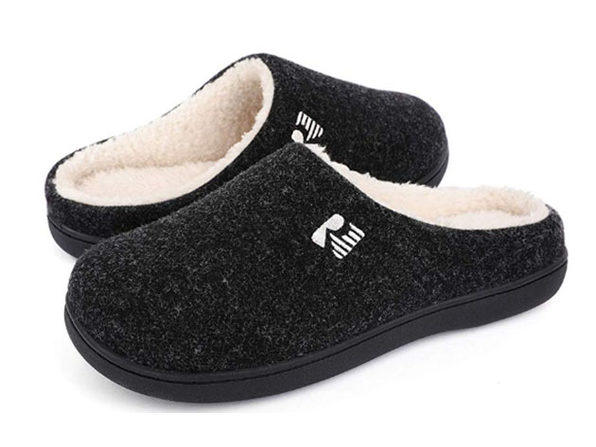 RockDove Men's 2-Tone Memory Foam Slippers