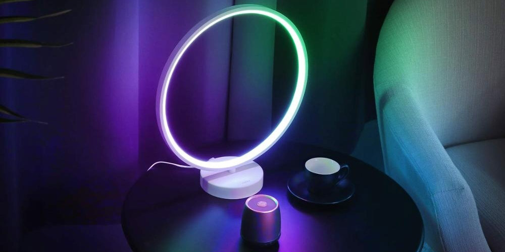 Nordic Mood LED Circle Table Lamp, on sale for $84.95 (14% off)