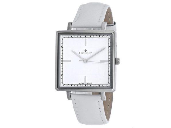 Christian Van Sant Women's Callista White Dial Watch - CV0410