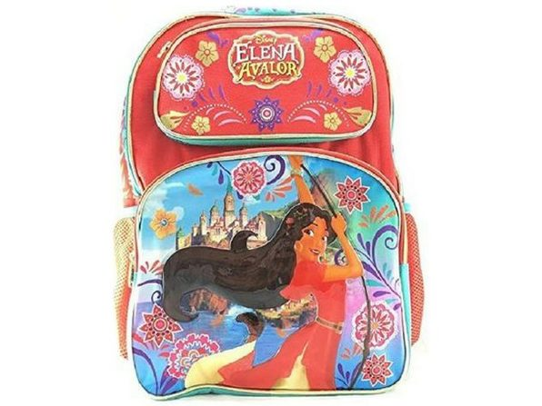 Elena 16 Inch Large Backpack  - Red by Elena of Avalor