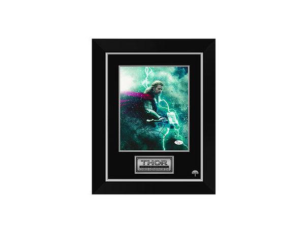 Signed & Framed Marvel Universe Memorabilia