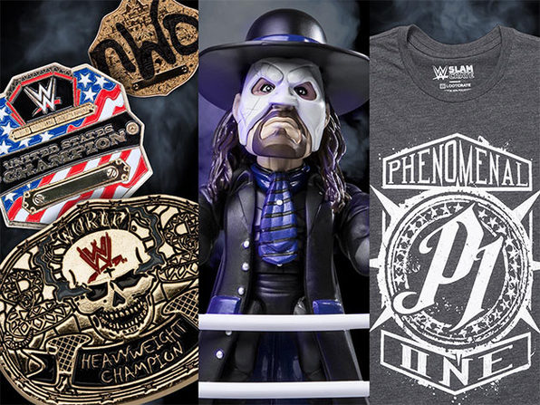 WWE Slam Crate: 3-Month Subscription (International Only)