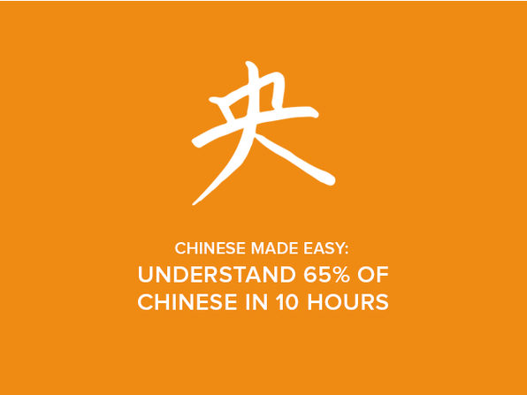 Chinese Made Easy: Understand 65% of Chinese in 10 Hours - Product Image