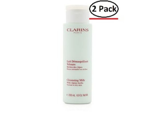 Clarins By Clarins Cleansing Milk - Normal To Dry Skin--200Ml/6.9Oz For Women (Package Of 2)