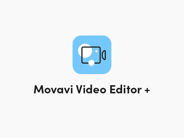 Movavi Video Editor Plus 2021 for Mac & Windows: Lifetime Subscription