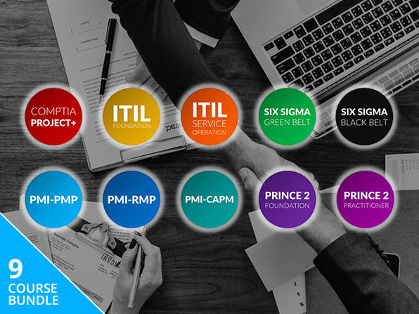 The Project Management Professional Certification Training Bundle: Lifetime Access