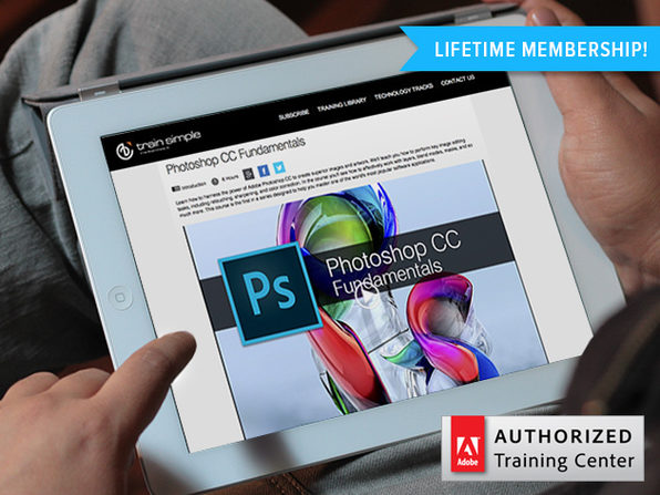 Train Simple: Lifetime Access To Adobe Training - Product Image