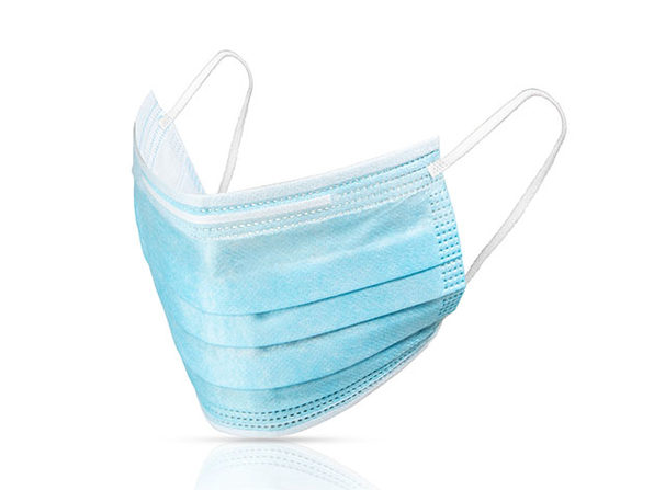 3-Layer Non-Woven Protective Masks (50-Pack)