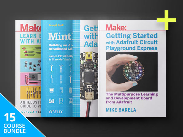 Pay What You Want 'Make:' Arduino Hacker eBook Bundle