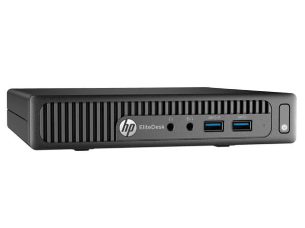 HP EliteDesk 705-G1 Mini PC AMD A8-7600B 256GB SSD Win7 (Refurbished)