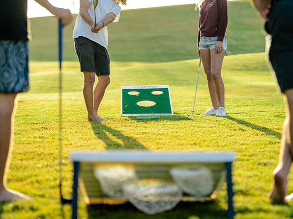 Chippo™ Golf Game: The Glorious Lovechild of Golf & Cornhole