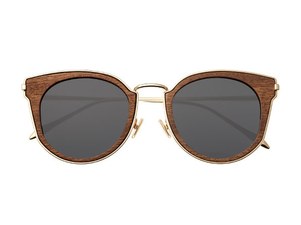 Earth Wood Karekare Sunglasses (Red Rose Wood)