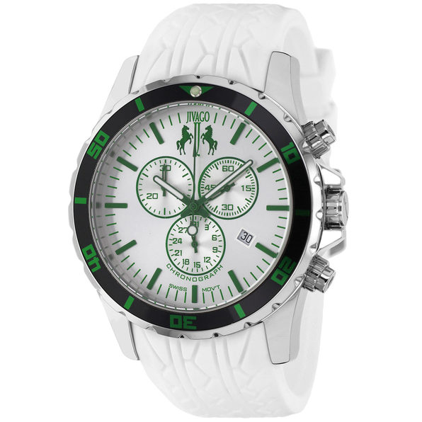 Jivago Men's Ultimate White dial watch - JV0126