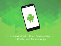 Learn Android Lollipop Development. Create Java Android Apps - Product Image