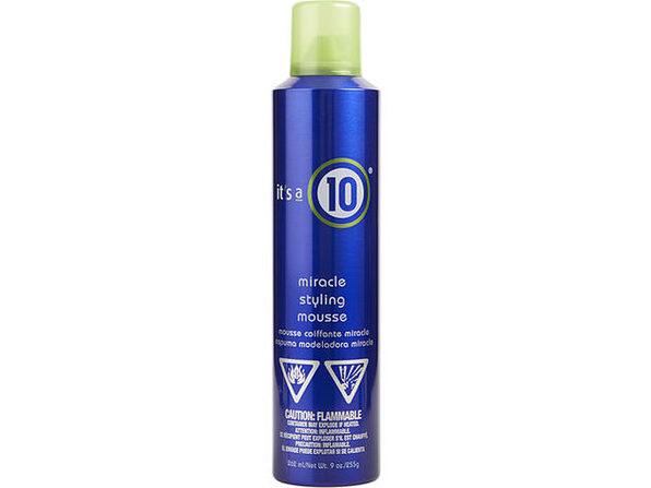 ITS A 10 by It's a 10 MIRACLE STYLING MOUSSE 9 OZ for UNISEX  100% Authentic - Product Image
