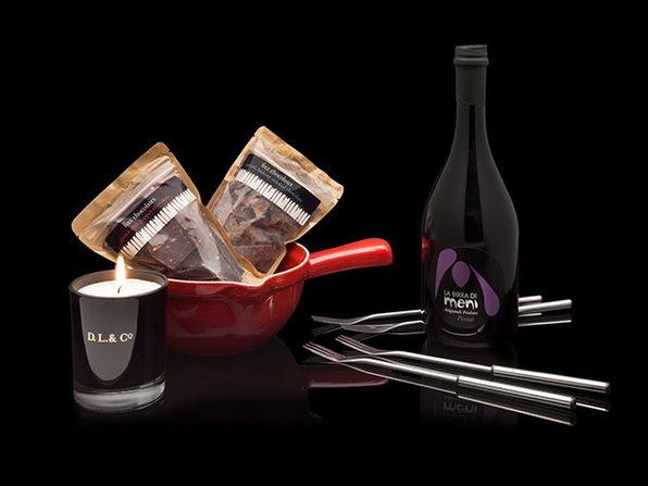Vices Chocolate Fondue Box Set