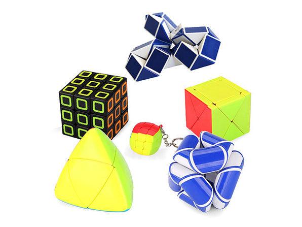 Zummy Brain Teaser Puzzles: 6-Pack
