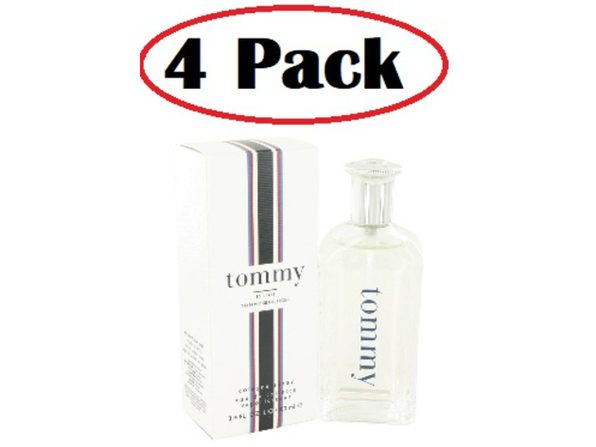 4 Pack of TOMMY HILFIGER by Tommy Hilfiger Cologne Spray / Eau De Toilette Spray 3.4 oz - Product Image