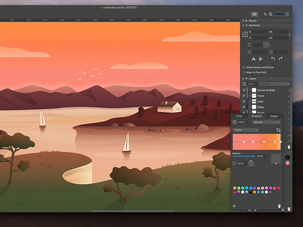 Amadine: The Ultimate Vector Graphics Software for Mac (Family License)