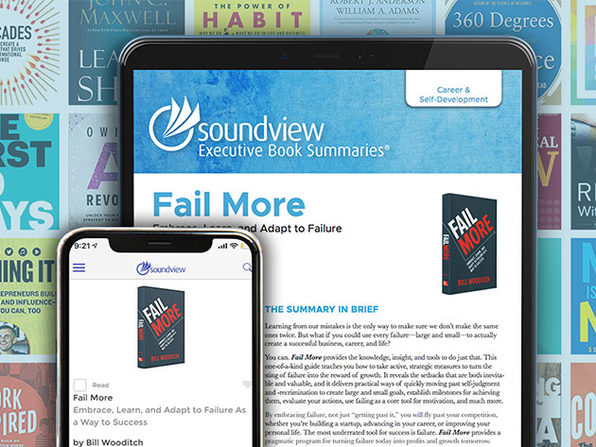 Soundview Executive Book Summaries®: 1-Yr Subscription