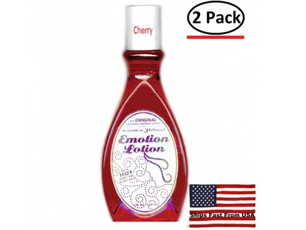 ( 2 Pack ) Emotion Lotion - Cherry - 4 Fl. Oz.