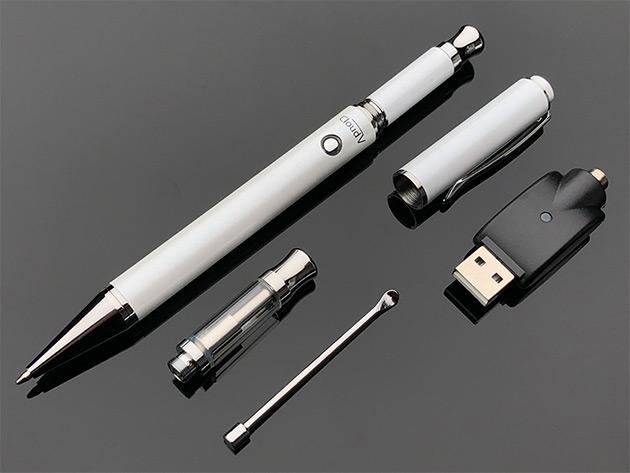 Cloud Vape Pen 2-in-1 Vaporizer (White) | StackSocial
