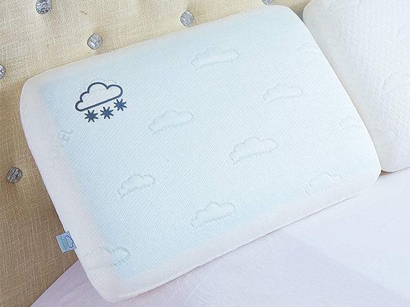 Luxury Reversible Cool Gel & Memory Foam Pillow: 2-Pack