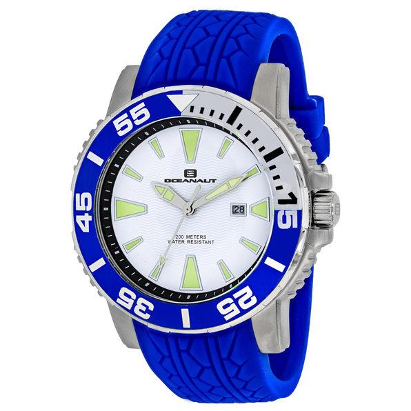 Oceanaut Men's White Dial Watch - OC2919