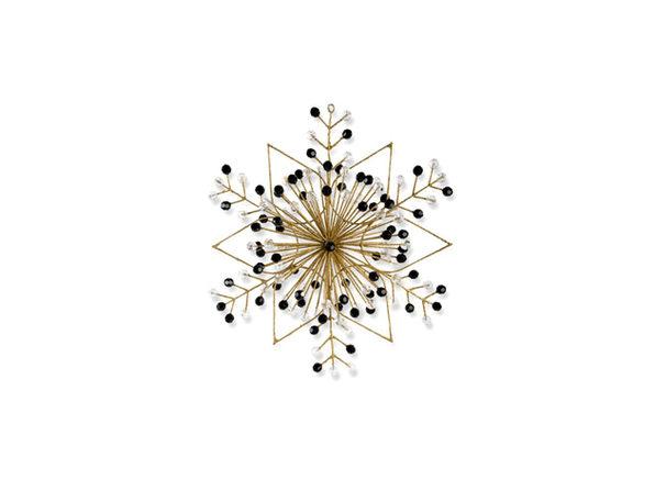 MacKenzie-Childs Gold Snowflake Ornament - Large