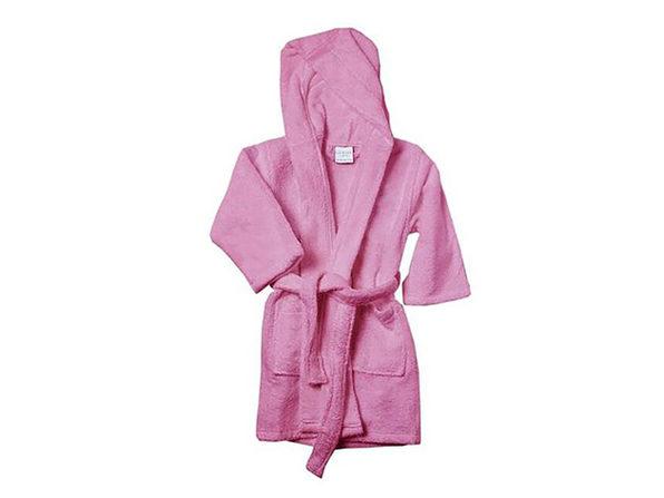 Alvare Luxury Kids Robe (Pink/Small-Medium)