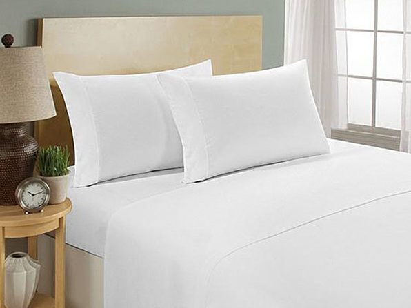 Ultra Soft 1800 Series Bamboo Bed Sheets: 4-Piece Set (White)
