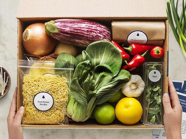 Blue Apron Plans 3 Meals for 2 Person