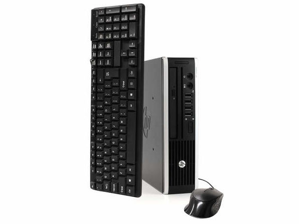 HP Elite 8300 Desktop Computer PC, 3.20 GHz Intel i5 Quad Core, 4GB DDR3 RAM, 500GB SATA Hard Drive, Windows 10 Home 64 bit (Renewed)