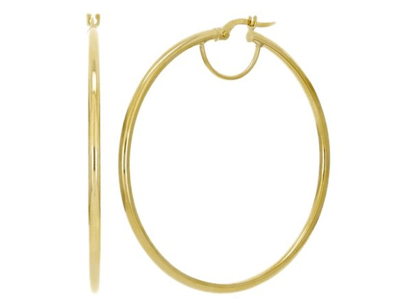 Christian Van Sant Italian 14k Yellow Gold Earrings CVE9H67 - Product Image