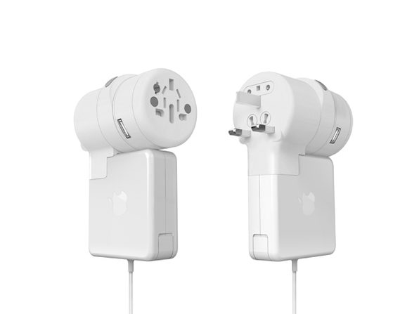 TWIST+ World Adapter Duo for MacBook