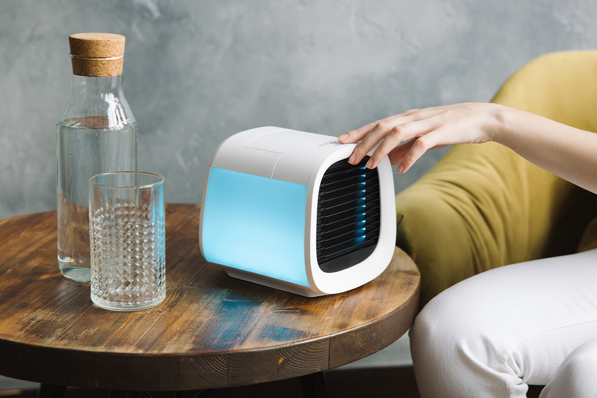 EvaChill EV-500 Personal Air Conditioner, on sale for $64.99 through 9/20