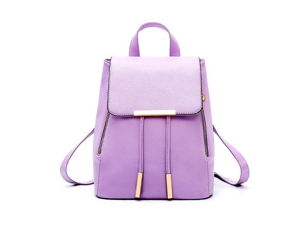 Katalina Convertible Backpack- Purple - Product Image