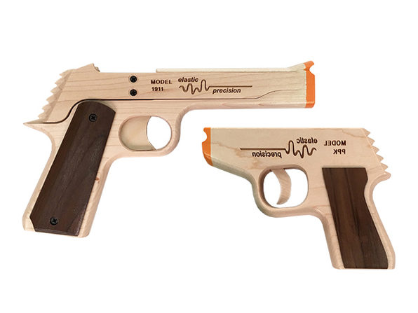 Model PPK Rubber Band Gun
