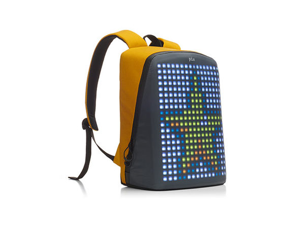 Pix Smart: LED Customizable Urban Backpack