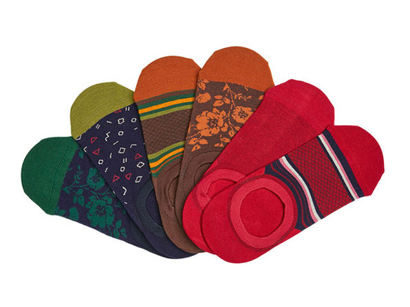 DeadSoxy No-Show Socks 6-Pack: Analyst 3