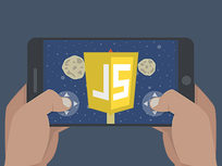 JavaScript Programming: Learn By Making a Mobile Game - Product Image