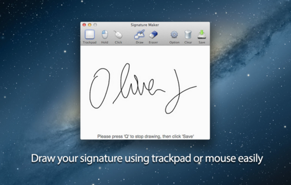 Signature Maker - Product Image
