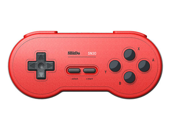 8BitDo® SN30 Bluetooth Gamepad (Red)