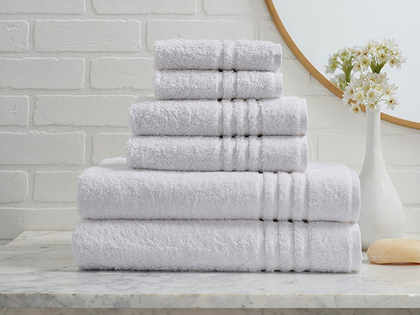 Turkish Cotton 6-Piece Ensemble Towel Set