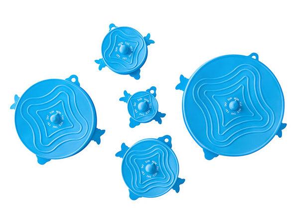 UniLid® Set: One Lid Fits All (Blue/3 Sets)