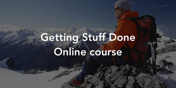How to Get Stuff Done: Personal Development Boot Camp - Product Image