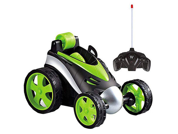 Wireless Remote Control Flip Wheels Toy Car