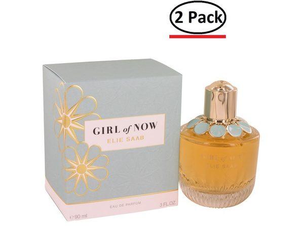 Girl of Now by Elie Saab Eau De Parfum Spray 3 oz for Women (Package of 2)