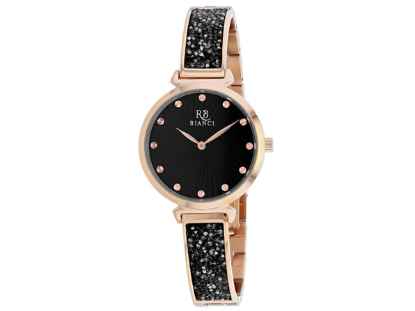 Roberto Bianci Women's Brillare Black Dial Watch - RB0205