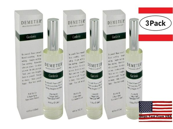 3 Pack Demeter Gardenia by Demeter Cologne Spray 4 oz for Women - Product Image